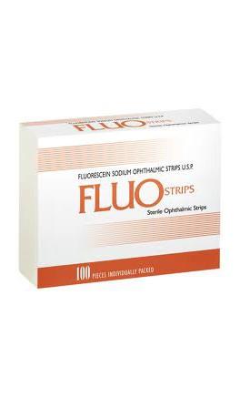 Fluo Strips Fluoresceina 300 tiras